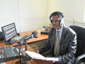 Peace emission on Radio