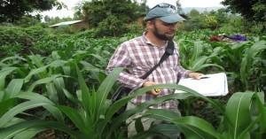 Matt Gates Volunteer at Friends Peace House in Musanze